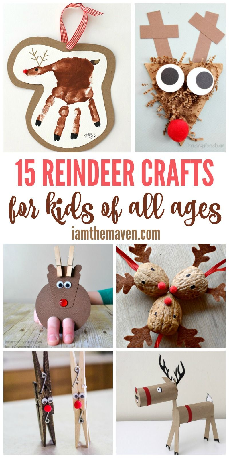 Here are some fun reindeer crafts!