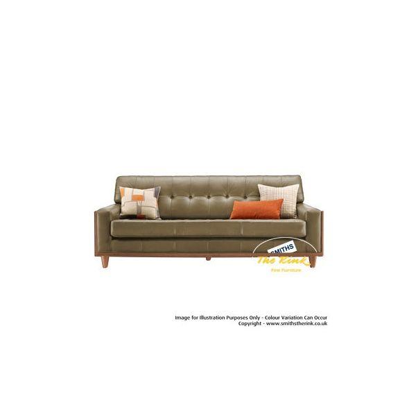 G Plan Vintage Fifty Nine Large Leather Sofa View In Your Leather Large Leather Sofas Large Sofa Leather Sofa