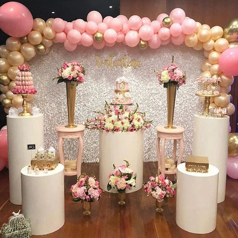 Artificial flower stand grand event cake food candy