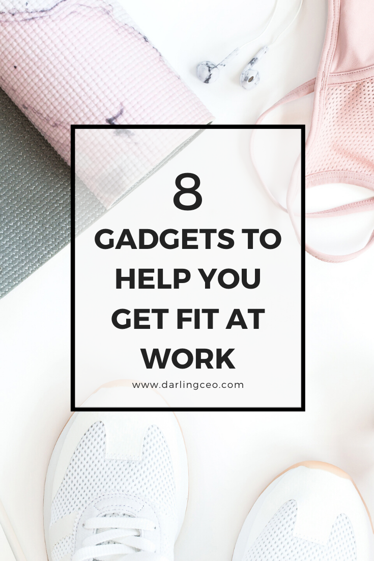 Improve your health, wellbeing, and focus at work! Check out these 8 gadgets to get fit at work....