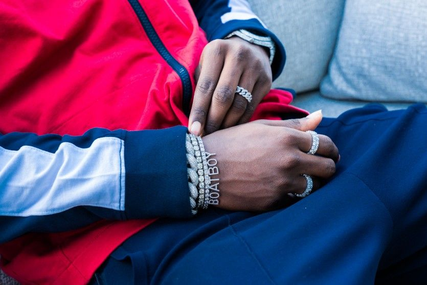 5e7759b9127 Lil Yachty wears Nautica for interview with The Coveteur - NYC