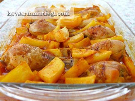 Fırında Patatesli Tavuk But Tarifi   Y.Tavuk yemekleri ...