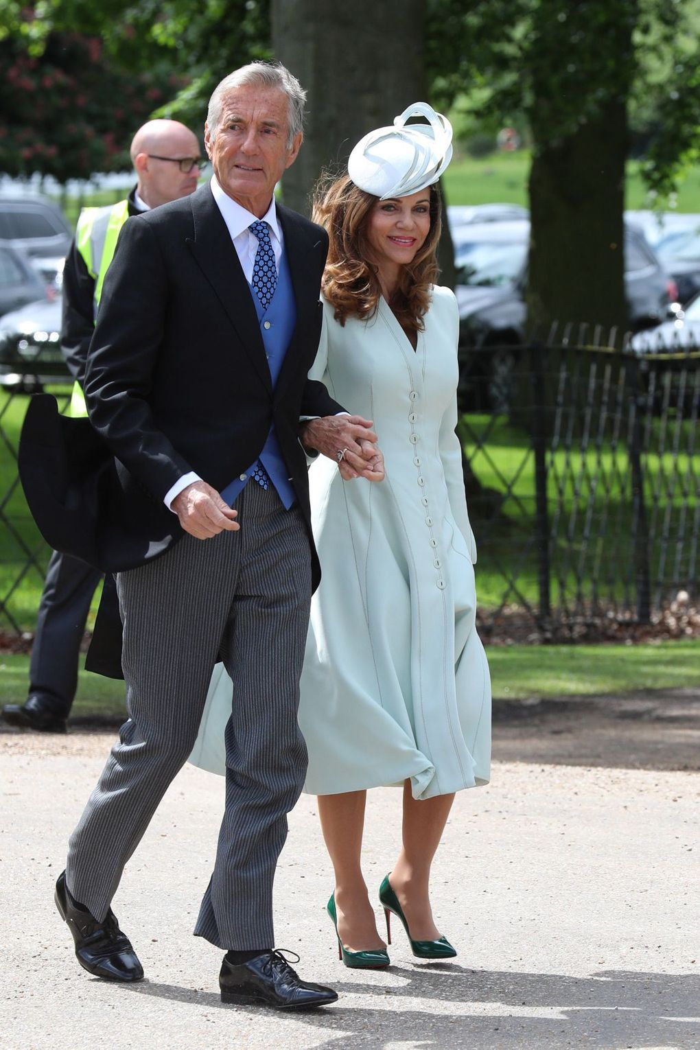 Pippa Middleton\'s Wedding: What The Guests Wore | Blue coats ...
