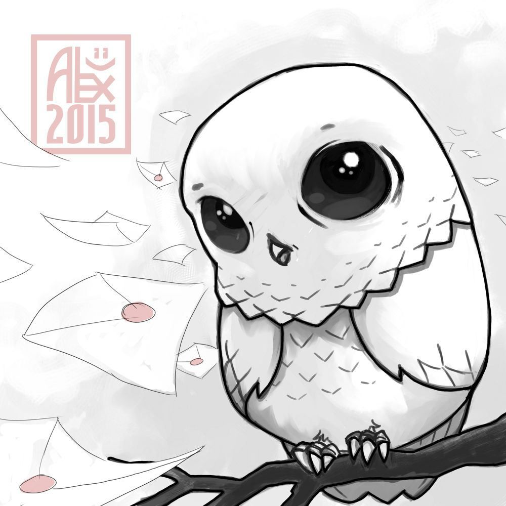 Illustration Baby Edwige Dessin Harry Potter Et Dessin