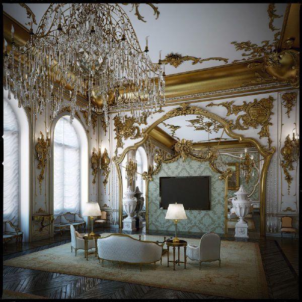 Rococo Baroque Interior Design Rococo Interior Design Interior Design Styles