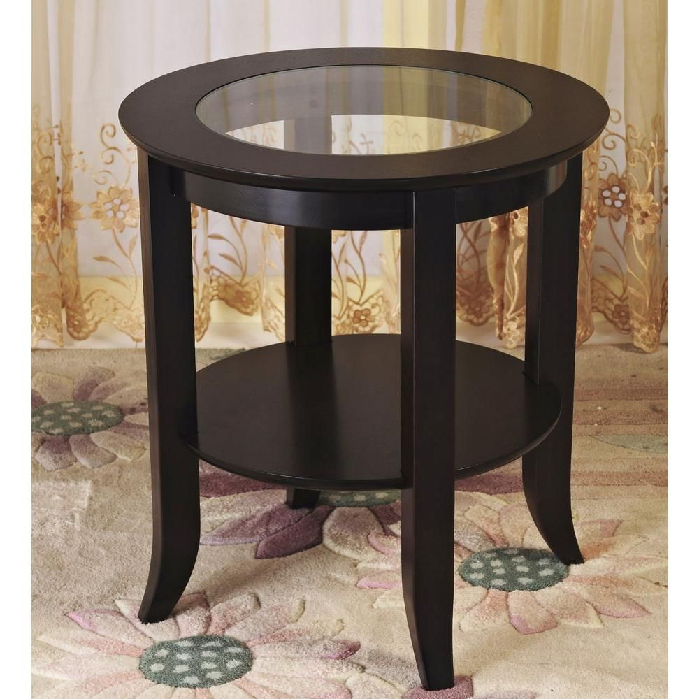 Genoa Espresso End Table Expresso