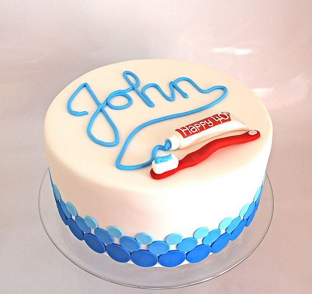 Cake Design Dentista : Dentist s cake Dental, Cake and Dentist cake