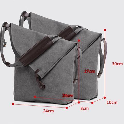 Women Rucksack Sling Carrying Bag Shoulder Canvas Body Messanger Bag – judedre…
