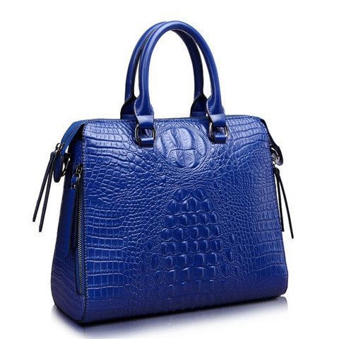20ce230b5dd3 Shengdilu Brand Genuine Leather handbag Crocodile pattern new 2017 Ladies  bags handbags women famous brands Messenger Large
