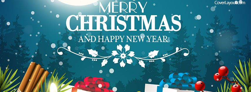 Merry Christmas And Happy New Year 2021 Fb Banner Merry Christmas And Happy New Year Facebook Cover Coverlayout Com Christmas Facebook Cover Christmas Cover Photo Happy New Year Facebook