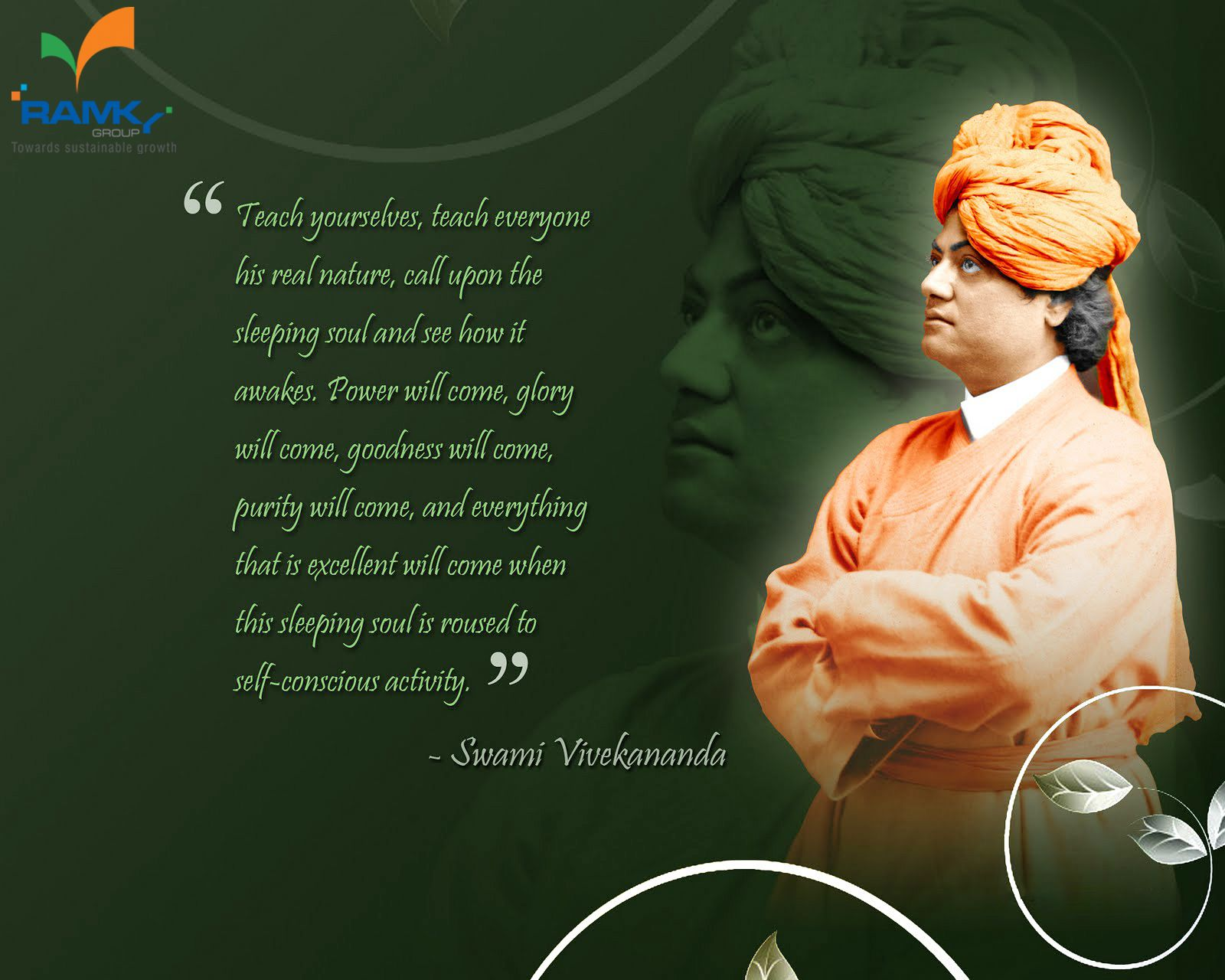 Golden Words From Swami Vivekananda