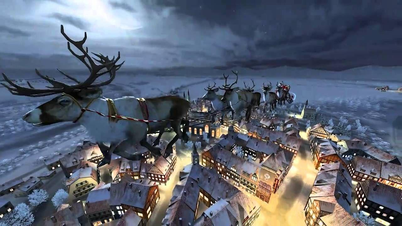 Free Christmas Videos Snowflakes Santa Claus Snowmen Stock