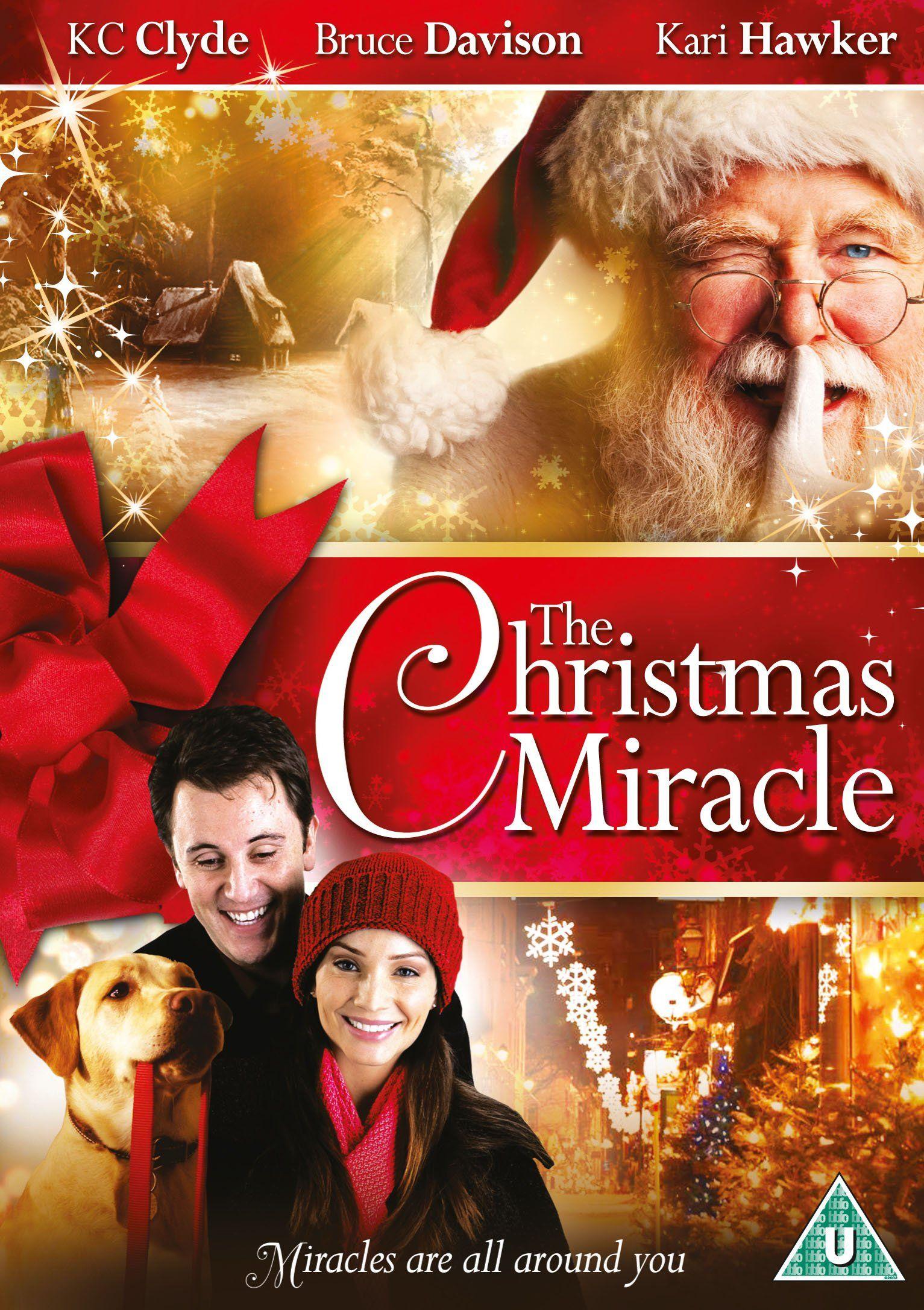 The Christmas Miracle Dvd Amazon Co Uk K C Clyde Kari Hawker Bruce Davison Mauree Hallmark Christmas Movies Best Christmas Movies Christmas Movies List