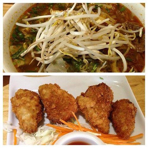 Vegan Drumsticks And Bun Hue Soup Loving Hut Naples Florida Restaurants