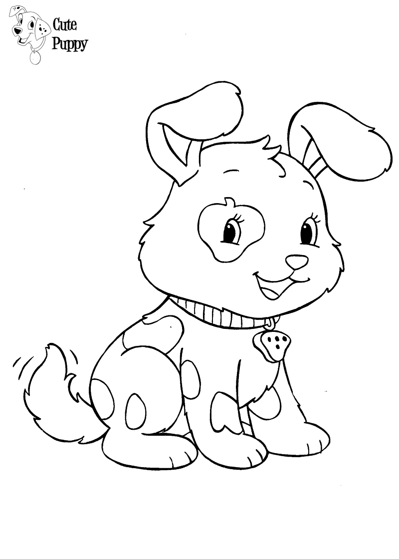 Cute Puppy Coloring Pages | Bratz Coloring Pages | Dibujos para ...