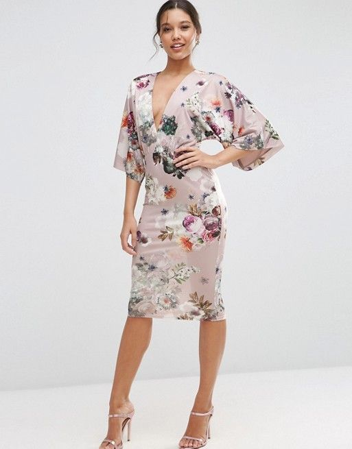 c09588a1239f2d Discover Fashion Online | gowns | Kimono style dress, Asos floral ...