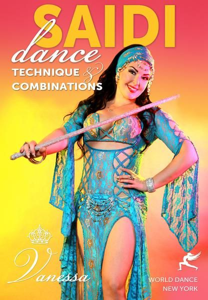 Saidi Dance Technique with and without the cane for belly dancers - folkloric…