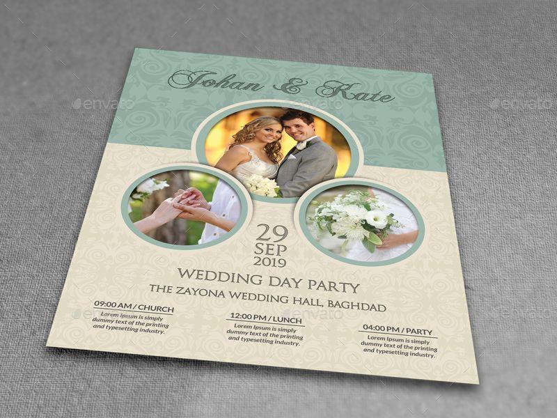 Kt Qu Hnh nh Cho Wedding Flyer  Wedding    Wedding