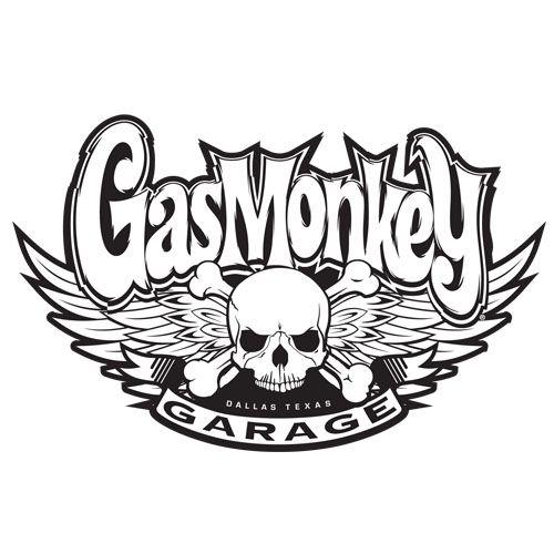 Gas monkey garage logo boy project info pinterest for Garage ad le pin