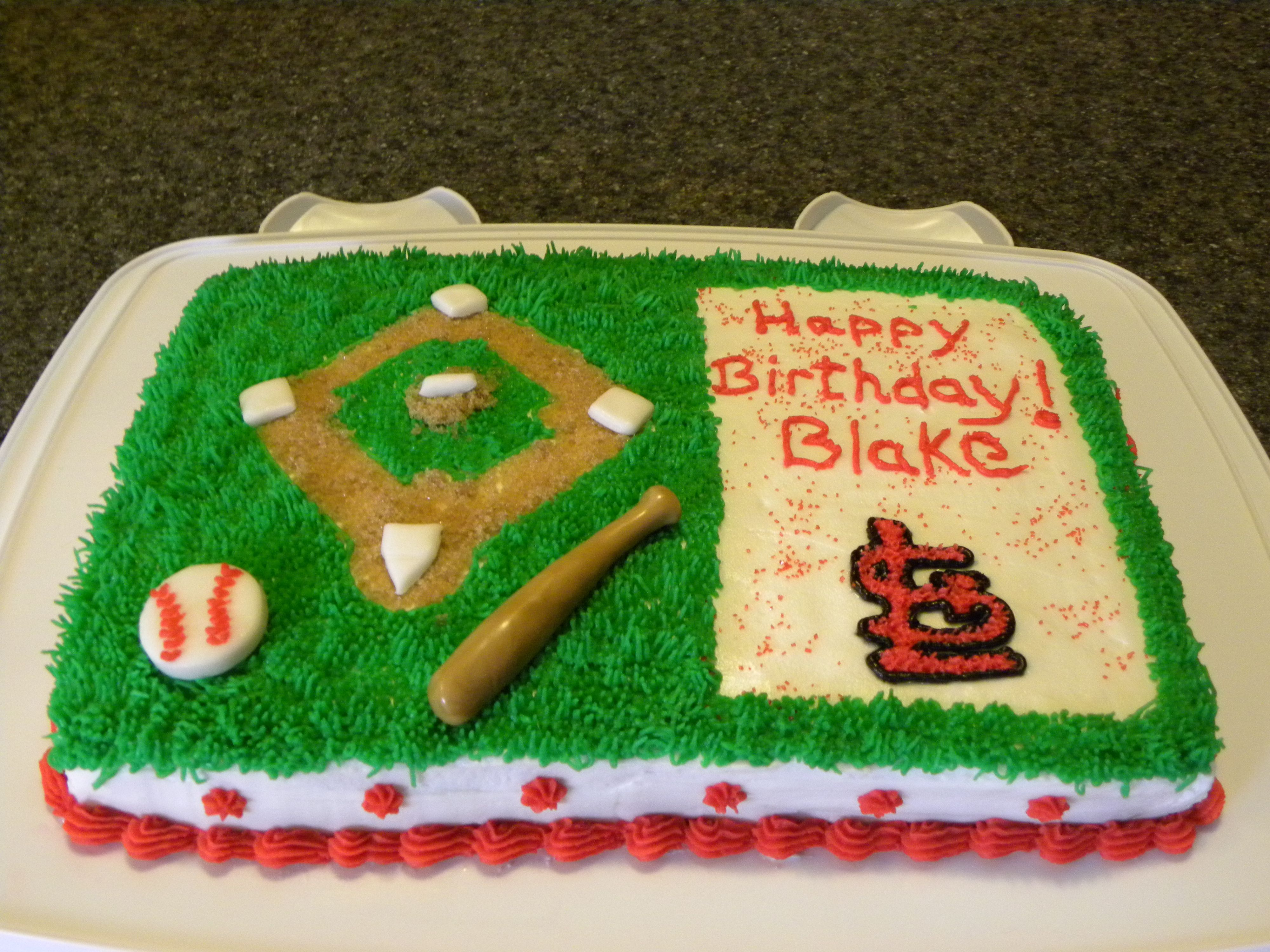 St Louis Cardinals Cake Wonder If I Could Commission Jeni Dancer To
