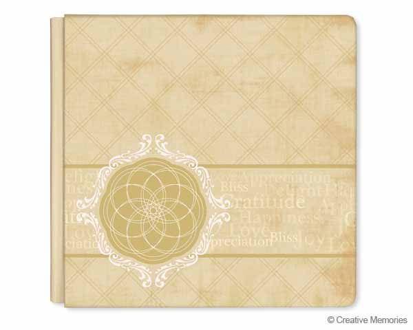 Creative Memories   Nancy O'Dell Gratitude Album Cover  #Scrapbooking
