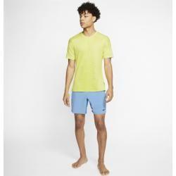 Photo of Nike Yoga Kurzarmshirt für Herren – Grün Nike