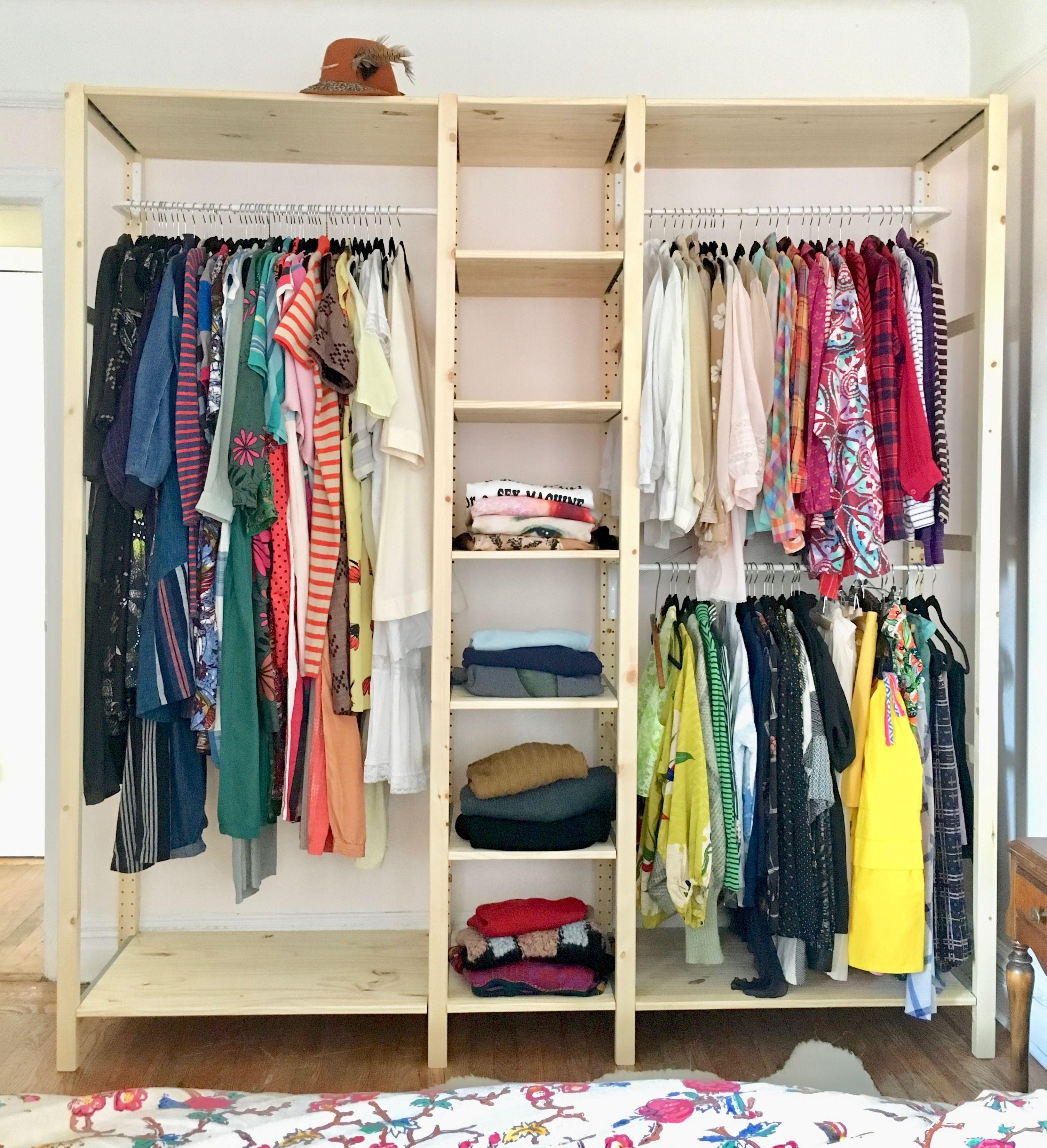 Professional Organizer Laura Cattano Hacked The Ivar Wood Shelving