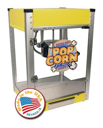 $299.00 Cineplex 4 oz. Yellow Popcorn Machine