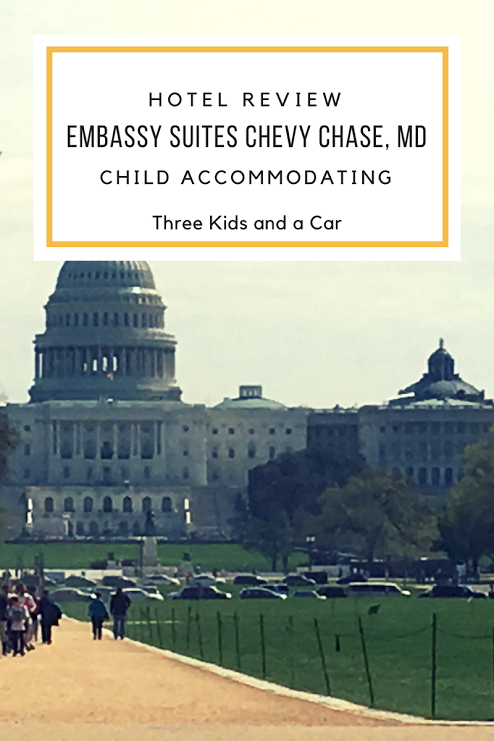 Hotel Review Of Emby Suites Chevy Chase Md Family Friendly Hotels Washington