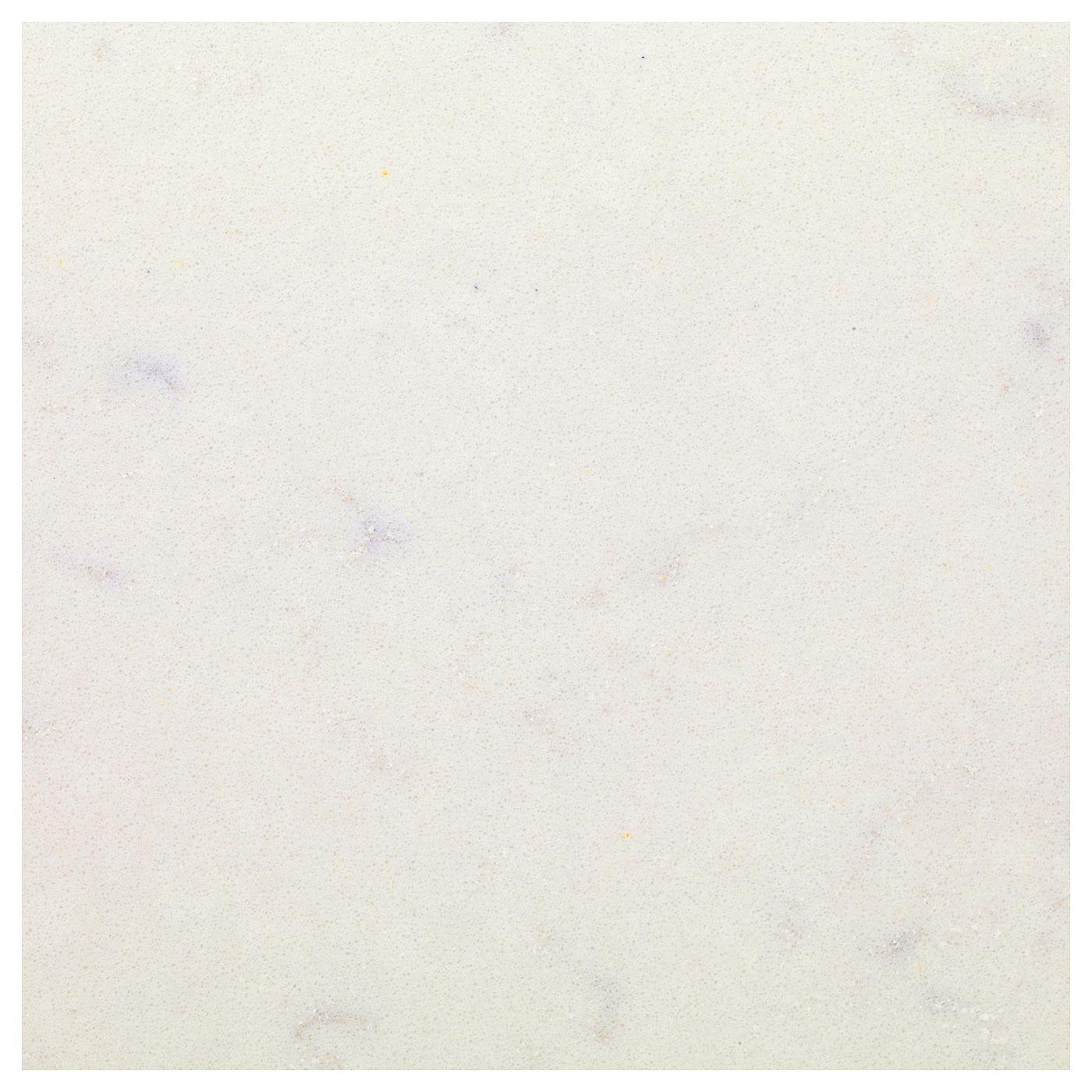 Kasker Custom Made Worktop White Marble Effect Quartz 1 M X3 0