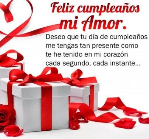 Feliz Cumpleanos Mi Amor Imagenes Y Frases Imagenes Para Whatsapp Happy Birthday Pictures Feliz Cumpleanos Happy Birthday Spanish Happy Birthday Frame