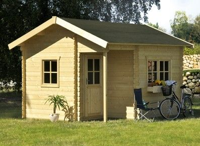 Une Maisonnette De 12m2 Pour Votre Jardin Cet Abri Double Pente