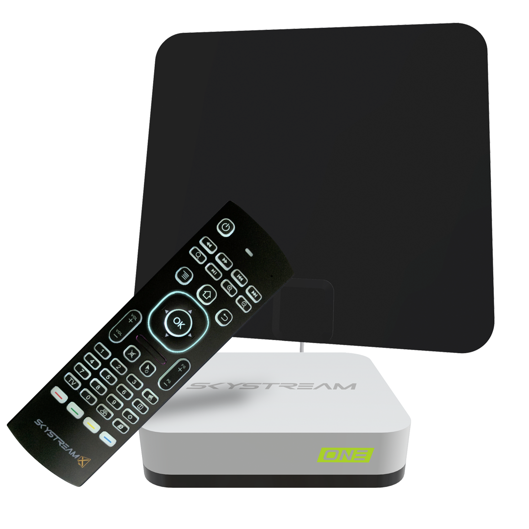 SkyStream 3+ 4K Streaming Media Player Streaming tv