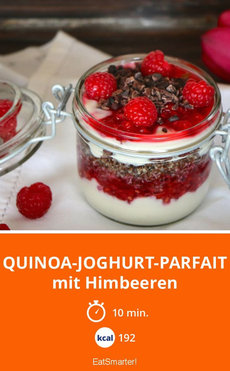 quinoa joghurt parfait rezept clean eating rezepte pinterest fr hst ck quinoa und joghurt. Black Bedroom Furniture Sets. Home Design Ideas
