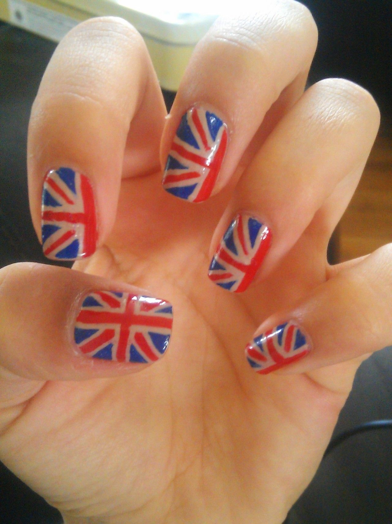 Union Jack Nails (With images) Union jack nails, Nails