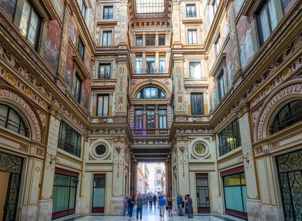 Inside Galleria Sciarra, The Trevi Fountain's Secret Neighbor