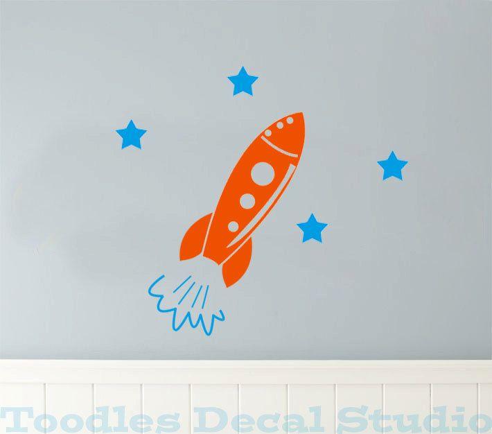 Wall Decal Bear Decal Cloud Sticker Nursery Room Decor Vinyl Design Art  MM15