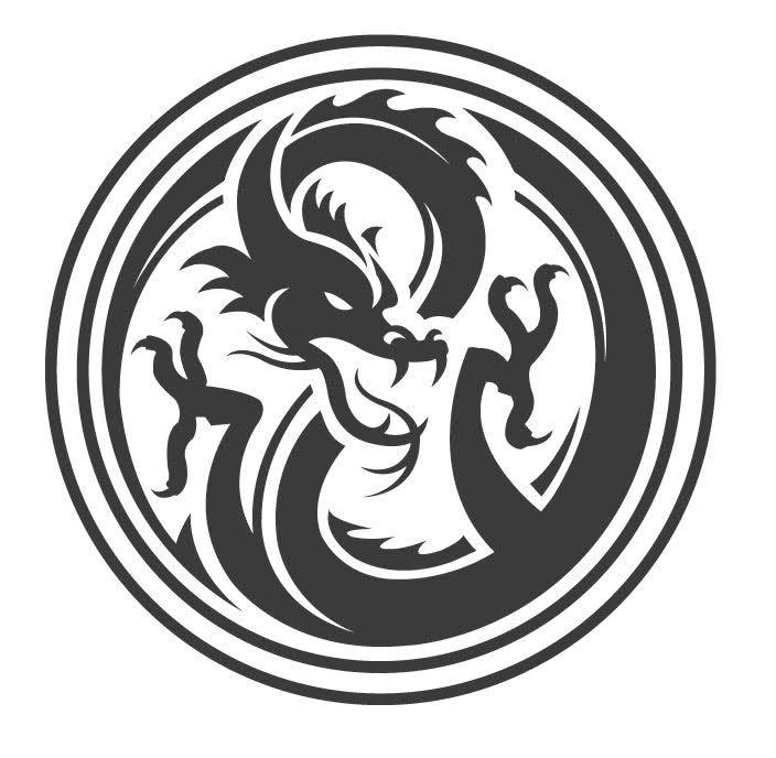 Enter the dragon vector | Design | Pinterest | Vorlagen, Leder und Ideen