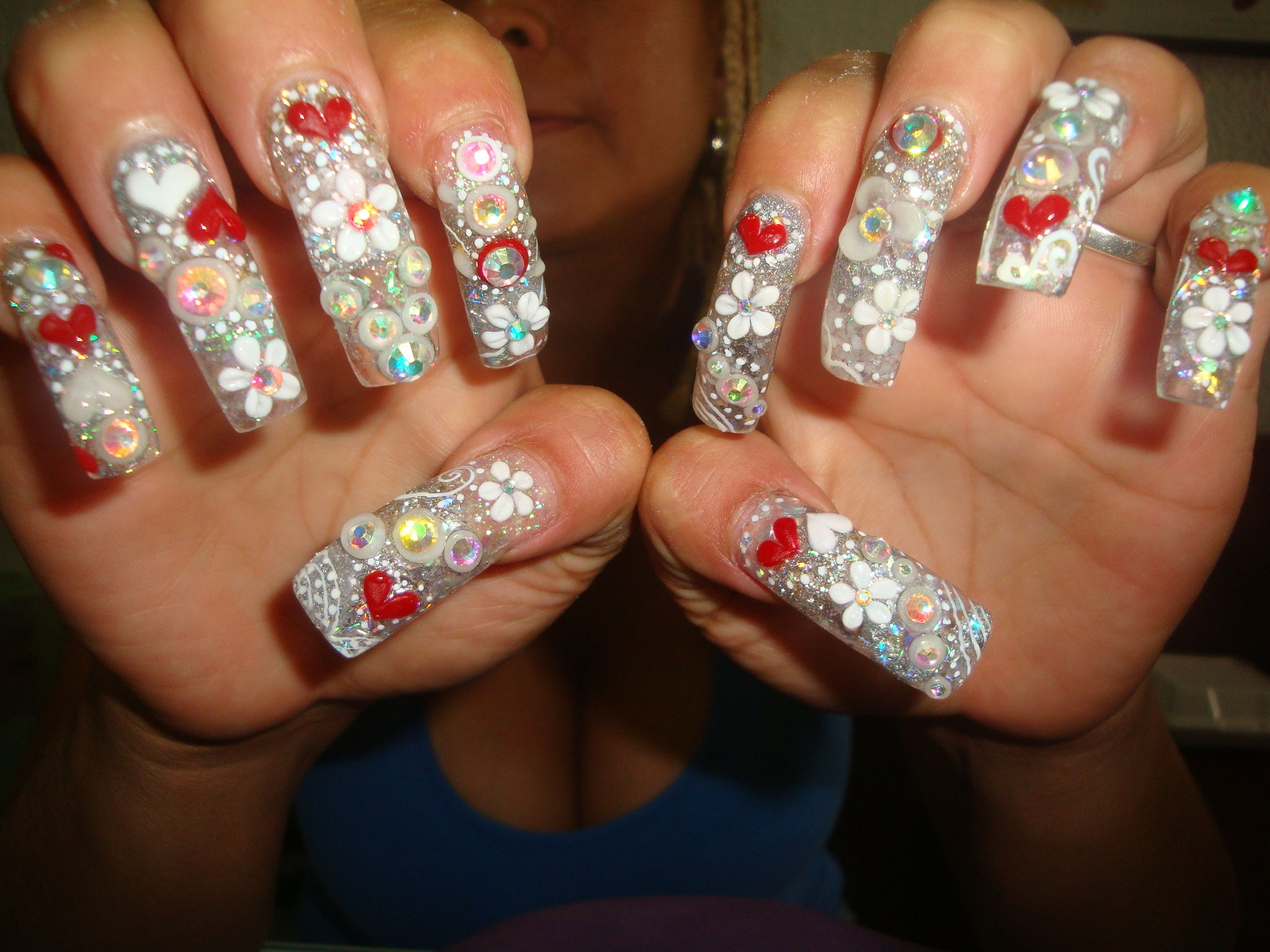 1000+ images about Uñas Acrilicas on Pinterest