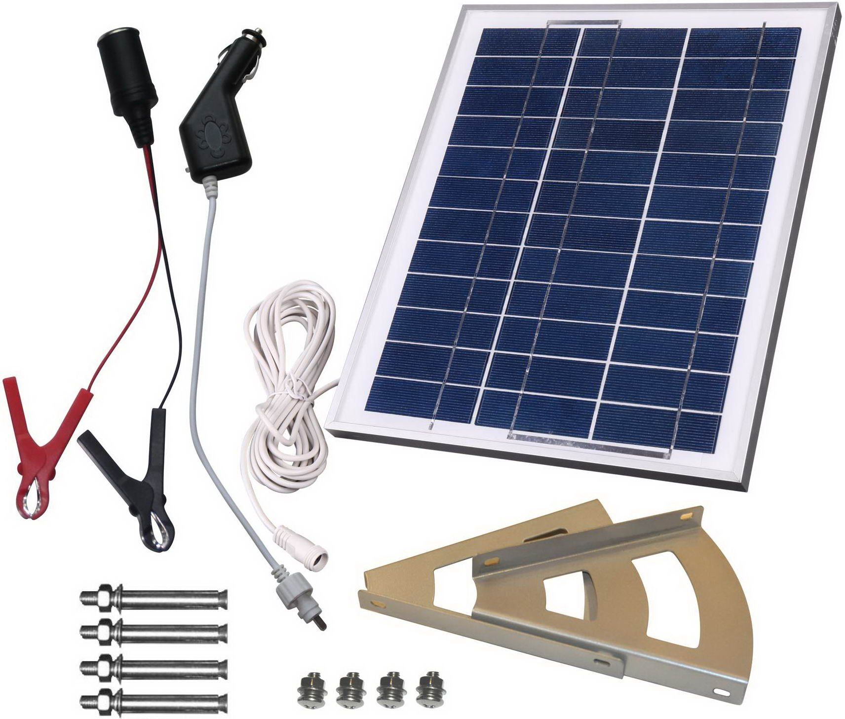 For Our Gate Opener Microsolar 10w Solar Panel Charging Kit Wiring A Cigarette Plug 12v Battery Play Charge Contoller Included Braket 18