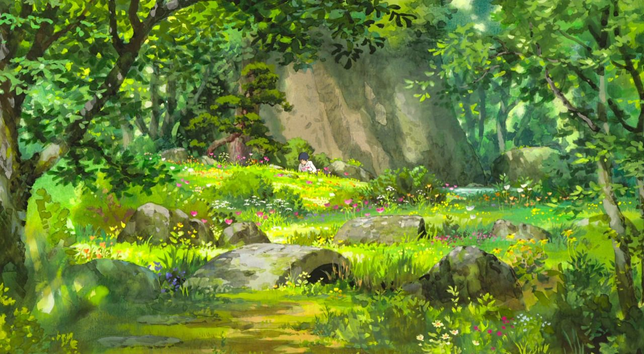 Studio Ghibli in 2020 Anime scenery, Studio ghibli art