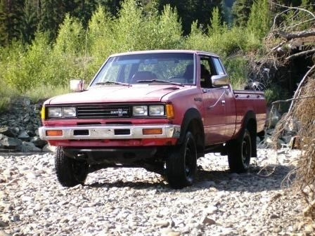 1982 datsun nissan 720 king cab 4x4 pick up truck - $2600 in