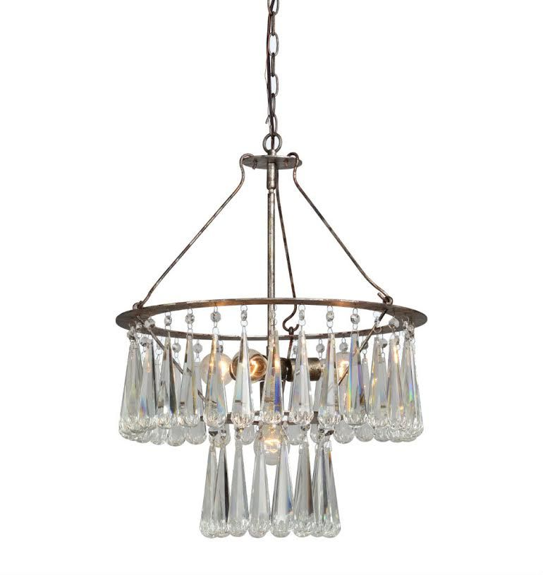 Nottingham Chandelier by Forty West designs http://www ...