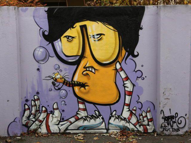 Künstler Hannover hannover apollo grafitti angebracht künstler standort