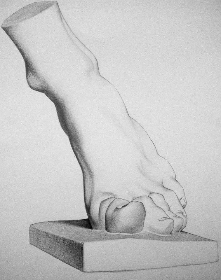 ejercicio de dibujo academico_2014