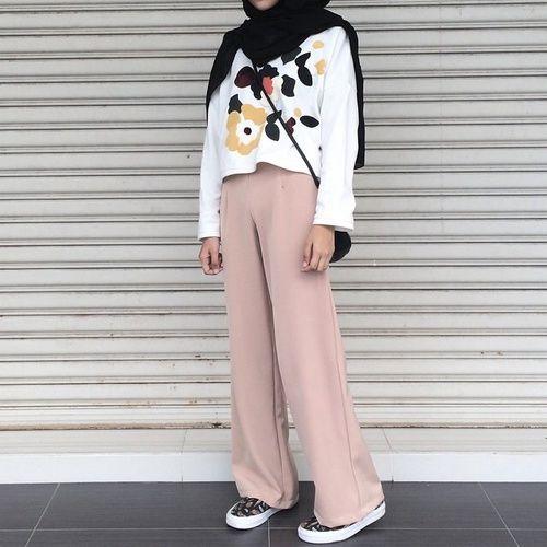 stunning gambar outfit hijab 2017