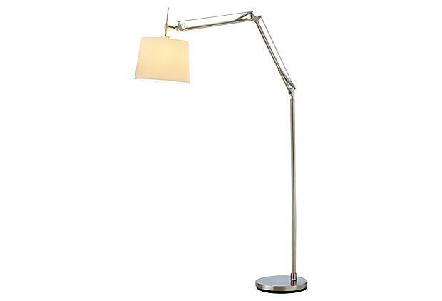 Architect Arc Lamp Satin Steel Lamp Arc Lamp Floor Lamp Styles