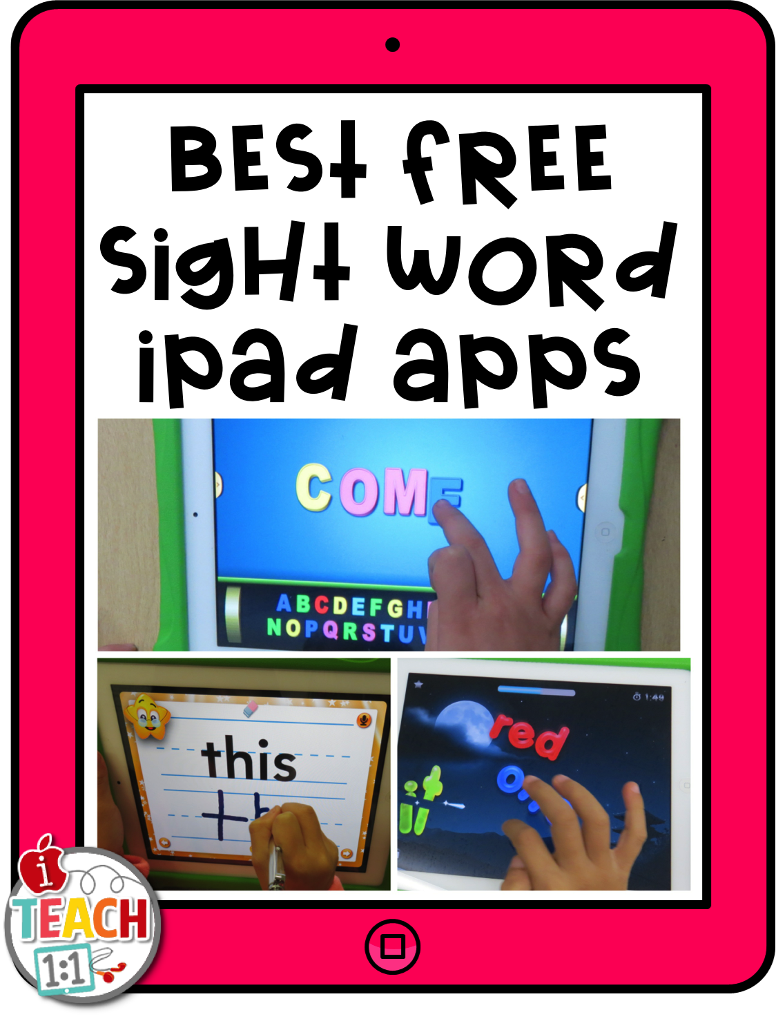 Free Sight Word Apps | Kids Crafts and Such | Pinterest | Kind