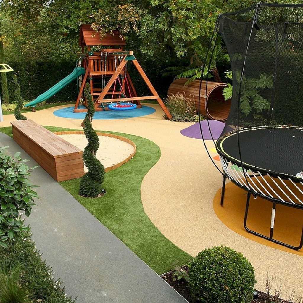 39 Fun Backyard Playground For Kids Ideas