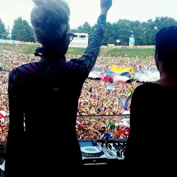 #Pinterest La Tricolor dijo presente en Tomorrowland 2013.